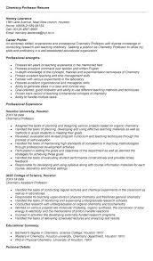 chemical engineering resume httpjobresumesamplecom2041chemical - Chemistry Professor  Resume