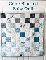 45 Beginner Quilt Patterns and Tutorials & Simple Pattern for a Baby Quilt on polkadotchair.com Adamdwight.com