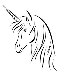 Semplice Immagine Da Stampare E Colorare Unicorni Disegni Da