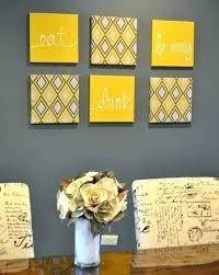 yellow grey wall art yellow and gray wall art yellow and grey wall decor kitchen wall