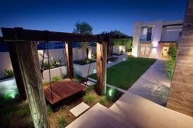 Modern Backyard Design Property Custom Decoration
