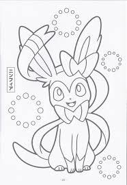 Name Ninfiya Pokemon Coloring Pagesnamesprintingcrayon