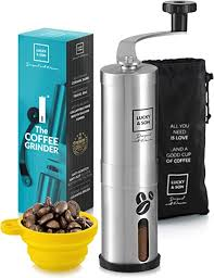 Free shipping on many items   browse your favorite brands   affordable prices. Amazon Com Lucky Son Manual Coffee Grinder Hand Crank Conical Coffee Bean Grinder With Adjustable Ceramic Burr Portable Mini Burr Grinder Mill For Travel Best Coarse Grind For French Press Kitchen