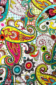 fabric canvas wall art on paisley print wall art with fabric wall canvas paisley print colorful picture art fun funky