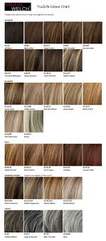 Raquel Welch Wigs Color Chart Raquel Welch Tru2life Colour Chart In 2019 Beautiful Hair