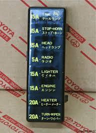 2001 toyota land cruiser fuse box diagram 2000 toyota land cruiser 1995 Toyota T100 Fuse Box Diagram fj40 fuse box cover,fuse download free printable wiring diagrams 2001 toyota land cruiser fuse Toyota Sienna Fuse Box Diagram