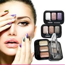 1 шт. бренд Novo 3 вида цветов профессиональный макияж <b>тени</b> ...