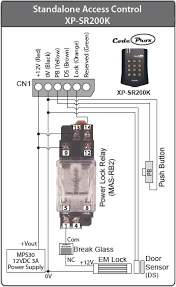 wiring connection diagram for xp srk knowledge base make sure the terminal output from mas rb to lock is producing correct voltage level