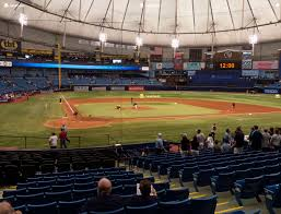 Tropicana Field Seating Chart With Rows Tropicana Field Section 106 Seat Views Seatgeek