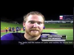 FB: SFA LB Ryan Epperson Interview - YouTube