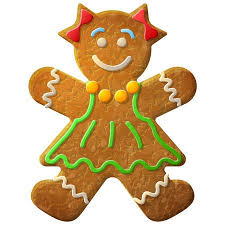 gingerbread woman. Contemporary Woman Gingerbread Woman Decorated Colored Icing Holiday Cookie In Shape Of Girl  Qualitative Vector Illustration Throughout Woman R