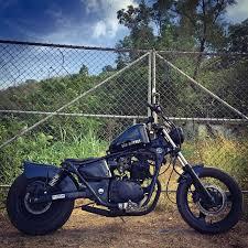 honda phantom black custom chopper 200cc sw coast phuket
