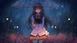 17++ Anime Girl In Rain Wallpaper ...