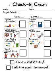 Behavior Check In Chart Preschool In 2019 Classroom