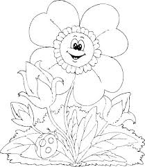 Spring Coloring Picture Crayolas Spring Coloring Pages