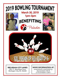Bowling Event Flyer Bowling Tournament 3 30 19 Paladin