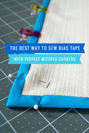 Best 25+ Bias tape ideas on Pinterest | Zipper tutorial, Sewing ... & The Best Way To Sew Bias Tape With Mitered Corners {photos plus a video. Bias  BindingQuilt ... Adamdwight.com