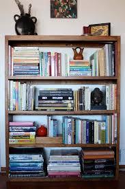 how to organize a bookshelf bella