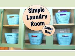 Simple Laundry Room Makeovers Simple Laundry Room Organizing Dollar Tree Products Youtube
