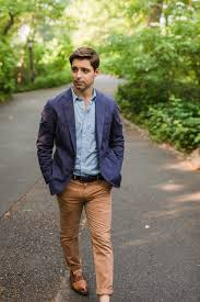 Light Blue And Brown Outfit 9 Ways To Wear A Navy Blazer Blue Sportcoat Outfit Ideas