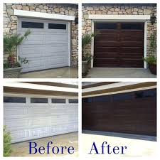 gel stain garage door makeover your garage door using gel stain to get more beautiful look gel stain garage door