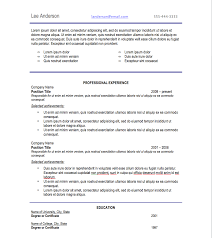 font on resumes