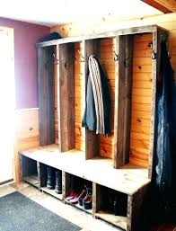 Entryway Bench With Coat Rack And Storage Mesmerizing Entryway Coat Rack With Storage Entryway Bench Coat Rack Compact