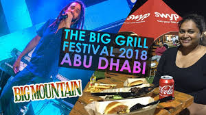 BIG MOUNTAIN at The Big Grill Festival 2018 - YouTube