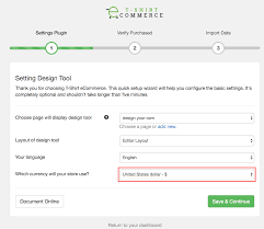 Design Change Note Format How To Change Currency Display In Design Page Document