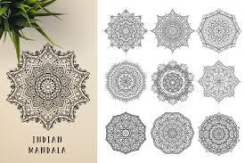 Mandala Indian Designs The Unique Mandala Designs Bundle