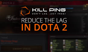 reduce the lag in dota 2 with kill ping kill ping
