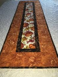 Girasoles   table runners   Pinterest   Table runners, Table ... & Fall Gatherings Thanksgiving Table Runner Quilt by KeriQuilts Adamdwight.com