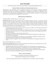 Marketing Resume Objectives Examples   Resume Example And Free