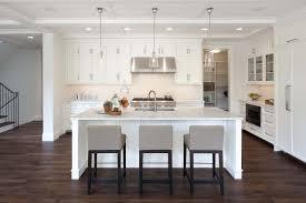Modern Style Bar Stools Kitchen Design Hardwood Floor Beautiful Chandeliers Restoration