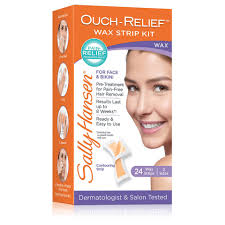 ouch relief wax kit for face