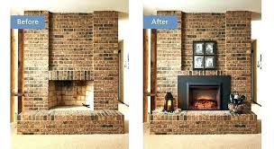 gas fireplace conversion to wood burning convert wood burning fireplace to electric wood to gas fireplace conversion electric insert