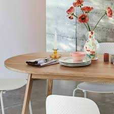 lacquered oak wood table 200 cm