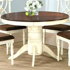 pedestal dining table with leaf inch round amazing collection in and inside prissy 42