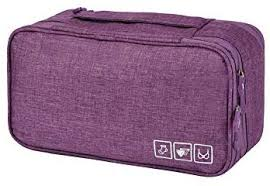 Practical <b>Travel Bra</b> Organizer Waterproof Handle <b>Underwear</b> Bag ...