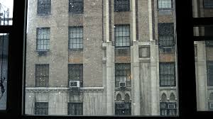 apartment window from outside. Unique From Window View Snow Falling  Snowing Outside With Building Across Street In  NYC 4K Stock Video Footage Videoblocks Intended Apartment Window From Outside I