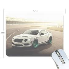 Bentley Optical Design Amazon Com Mouse Pad Bentley Continental Gt3 R White Side