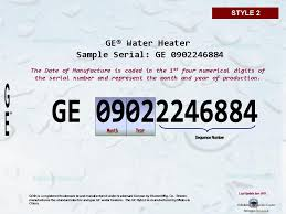 Ge Heater Chart Ge Water Heater Age Building Intelligence Center
