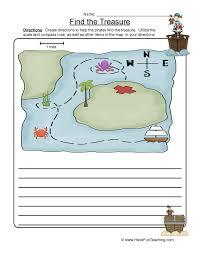 Map Skills Worksheets   Have Fun Teaching