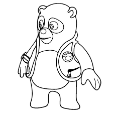 Small Picture Amazing Special Agent Oso Coloring Page Download Print Online