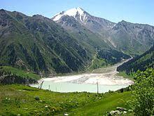 Озеро Википедия Большое Алматинское озеро Казахстан