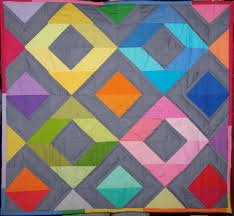 Rainbow Diamonds Mini Quilt Tutorial | Craft Buds & 10) ... Adamdwight.com