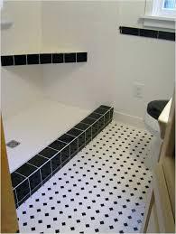 black and white ceramic floor tile bathroom interior in vogue white flooring black dotted ceramic black