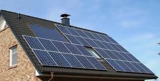 solar panel array roof home house residential22