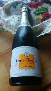 Champagner Veuve Clicquot Demi Sec Ponsardin
