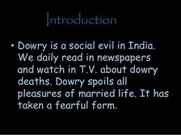 dowry system ppt introduction 3 bull dowry